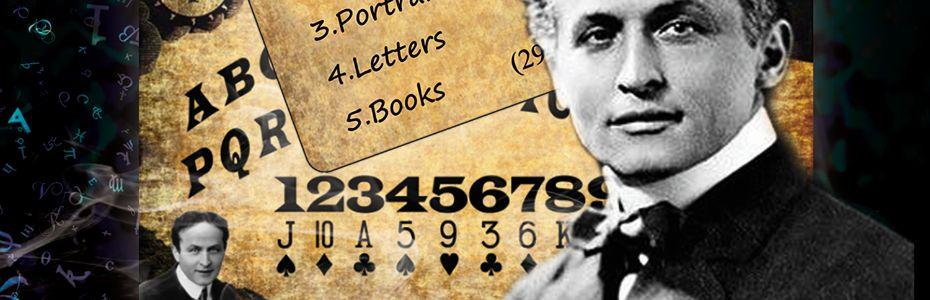 Houdini Spirit Board